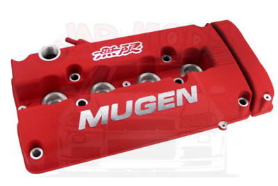 RED Mugen Style Valve Rocker Engine Cover Honda B16/B17/ B18/B20/Civic/Integra