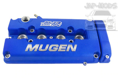 BLUE Mugen Style Valve Rocker Engine Cover Honda B16/B17/ B18/B20/Civic/Integra