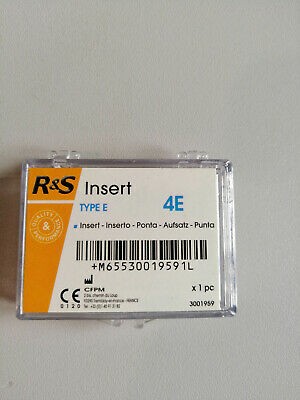 double Insert R&S 4E et 6E for universal scaling et for cleaning