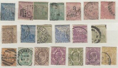 Cape Of Good Hope QV/KEVII Collection Of 20 Fine Used J6681