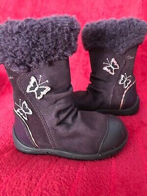 Next girls  Boots UK infant  size 4.5 G, Suede