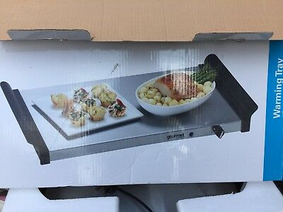 Gourmet By Sensiohome  Warming LARGE Tray GBSTWP001  HOT FOOD PLATE