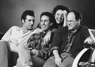 SEINFELD TV Show PHOTO Print POSTER Series Art Jerry Behind The Scenes Kramer 03