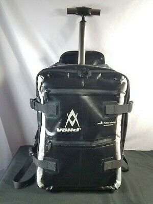 RARE - Volkl Hideo Design Backpack Carry-On Roller Case by Hideo Wakamatus Japan