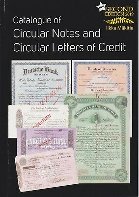 Catalogue of Circular Notes and Letters of Credit ( Banking history, cheque )