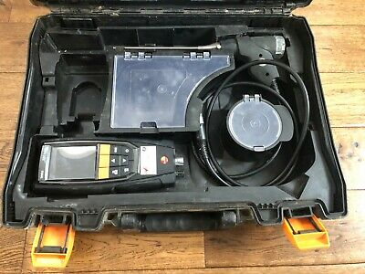 Testo 320 Basic combustion Flue Gas Analyser Kit heating boiler No calibration