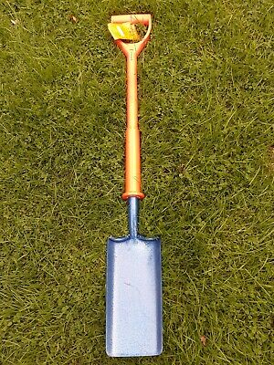 """Richard Carters Shock-Pro Poly Fiber Insulated Cable Layer SS Shovel 4"""" WASK"""