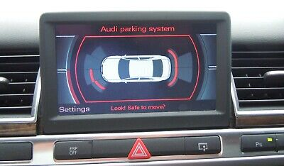 Audi A8 D3 Optical Parking System PDC Upgrade New Genuine