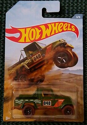 Hot Wheels JEEP SCRAMBLER OFF ROAD TRUCK SERIES Walmart Exclusive 2019 MINT NEW