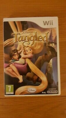 Disney Tangled:The Video Game (Nintendo Wii, 2010) European Version all complete