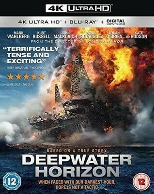 Deepwater Horizon 4k UHD with slipcover