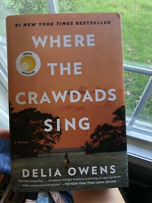 Where The Crawdads Sing by Delia Owens (Hardcover Book)