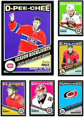 2019-20 OPC Retro Black **** PICK YOUR CARD **** From The LIST - xxx /100