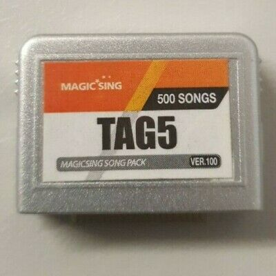 Tagalog Song Chip# 5 Magic Sing Karaoke 500 Songs Philippino