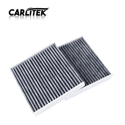 2PCS Air Filter with Activated Carbon AC Clean for Toyota 87139-07010
