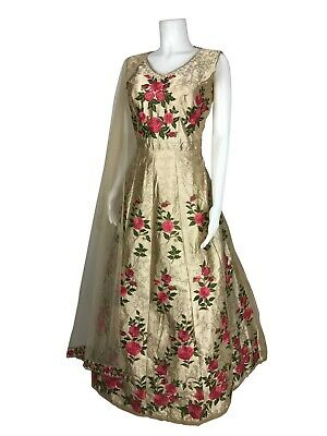 IBC Hot Deal    Anarkali suit Girls Indian Dress Size 34 Fits 10 to 11 Years