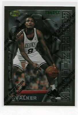 Antoine Walker Topps Finest #841996-97 Rookie RC NBA Basketball Card