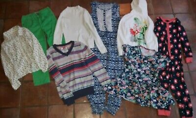 Girls Clothes Bundle Age 8 9 years now/ next Christmas Winter M&S H&M top jumper