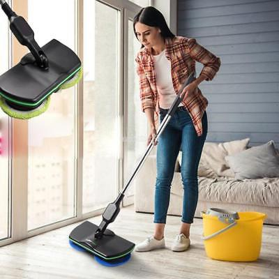 AU Electric Rechargeable Cordless Floor Cleaner Scrubber Sweeper Polisher Mop HP