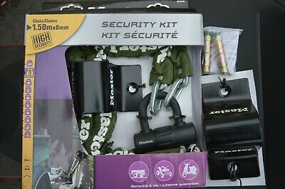 Master Security Kit With 2 Ground Anchors