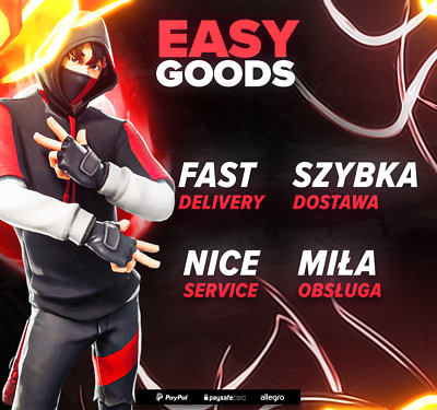 Fortnite Ikonik Skin Service | Short Waiting Time | Pc/Ps4/Xbox/Switch