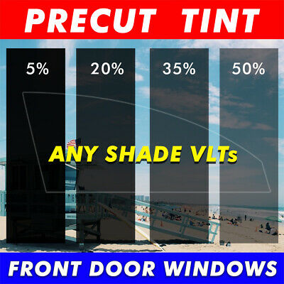 TINTGIANT PRECUT FRONT DOORS WINDOW TINT FOR FORD F-250 CREW 08-12