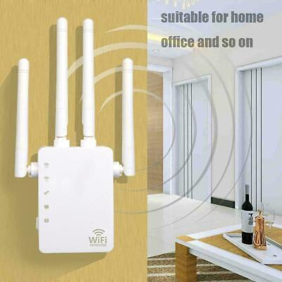 Dual Band AC 1200Mbps WiFi Repeater AP Wireless Range Extender Booster Network