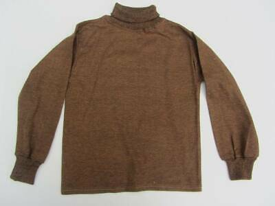 vintage ladybird polo neck jumper brown WW2 style age 7 evacuee costume nwt