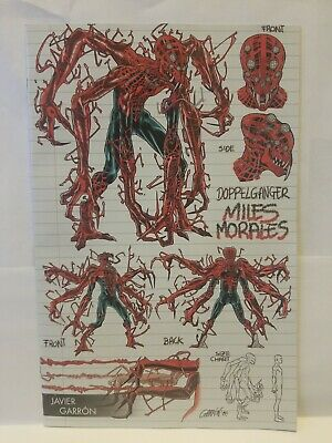 Absolute Carnage Miles Morales #1 Garron Young Guns Variant Marvel Comics Nm