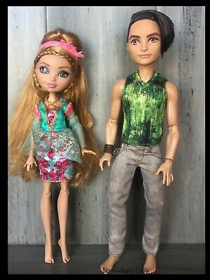 Ever After High Archery Club Ashlynn Ella Nude Doll NEW for OOAK Custom or Play