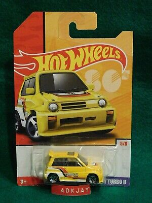 2019 Hot Wheels ~ THROWBACK SERIES '80s #5/8 ~ '85 Honda City Turbo ll ~ Target