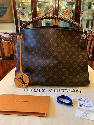 Authentic Louis Vuitton Braided Artsy Mm - Limited Edition - With Receipt