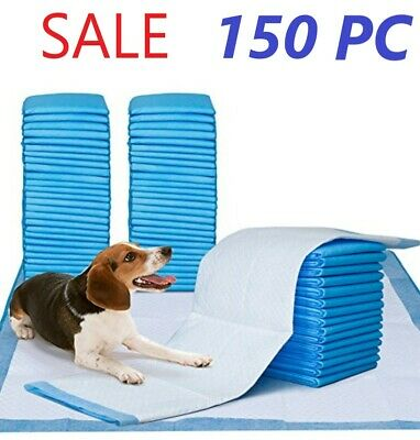 "150 Pet Disposable Training Pads for Dog and Puppy Underpads, 23"" x 36"" PE-PAD"