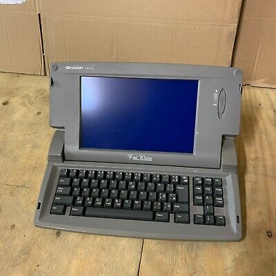 Sharp FW-710 font writer personal word processor A7