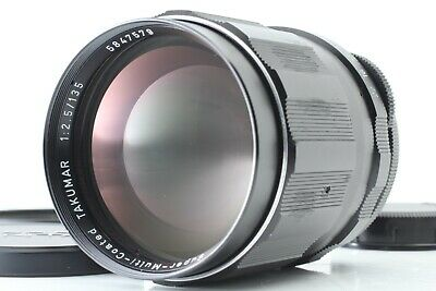 [Mint] Pentax SMC Takumar 135mm F2.5 M42 Mount MF Lens From Japan
