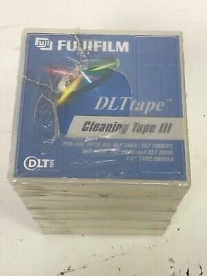 Fujifilm DLT Cleaning Tape III New Pack Of 5 Sealed
