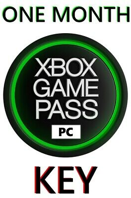 1 Month Xbox Game Pass for PC KEY | MULTIPLE KEYS AVAILABLE | FAST