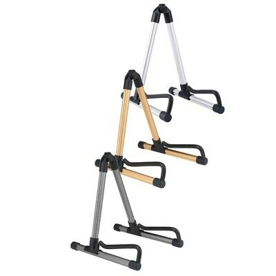 Professional Electric Guitar Stand Universal Folding Electric Acoustic Bass V8G3