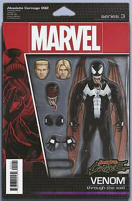 Absolute Carnage #2 Venom Action Figure Variant  Comic 1st Print 2019 NM