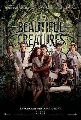 Beautiful Creatures Poster Double Sided Advance (2013) Original Movie Poster