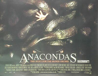 Anacondas (Double Sided) Original Movie Poster