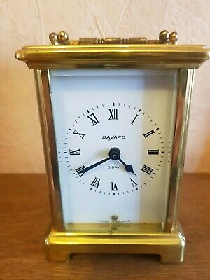Antique carriage clocks french bayard duverdrey & Blaquel 8 day