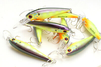 1qty 00100210Ghost Blue Gill LUCKY CRAFT JAPAN Bevy Shad 60SP