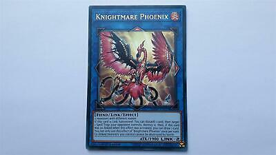 "Yugioh ""Knightmare Phoenix"" MP19-EN027! Ultra Raro ! Near Mint! 1. Edition"