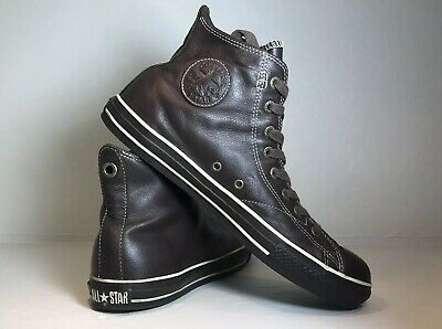 Mens Leather Converse All Star Chuck Taylor Archive Sz 11.5 Hard to Find 1j857
