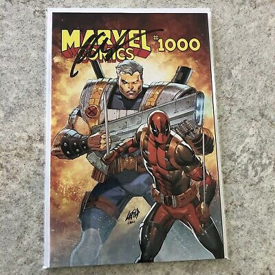 Marvel Comics #1000 Rob Liefeld Variant - SIGNED BY ROB LIEFELD + COA