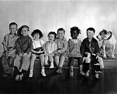 New 11x14 Photo: Our Gang, The Little Rascals - Alfalfa, Spanky, Darla & others