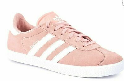 Adidas Originals Gazelle Vapour Pink Kids Girls Sizes 3-5.5 Genuine Sport Causal