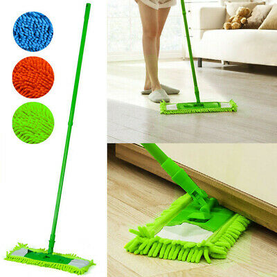 Mop Pad Chenille Water Absorption Easy Install Replacement Cleaning Machine Wash