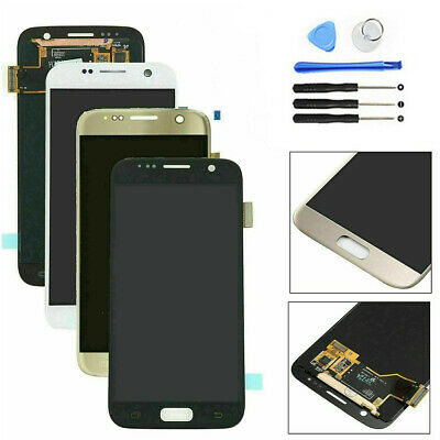 For Samsung Galaxy S7 G930F G930D G930L LCD Touch Screen Digitizer Replacement